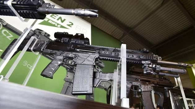 Útočné pušky České zbrojovky