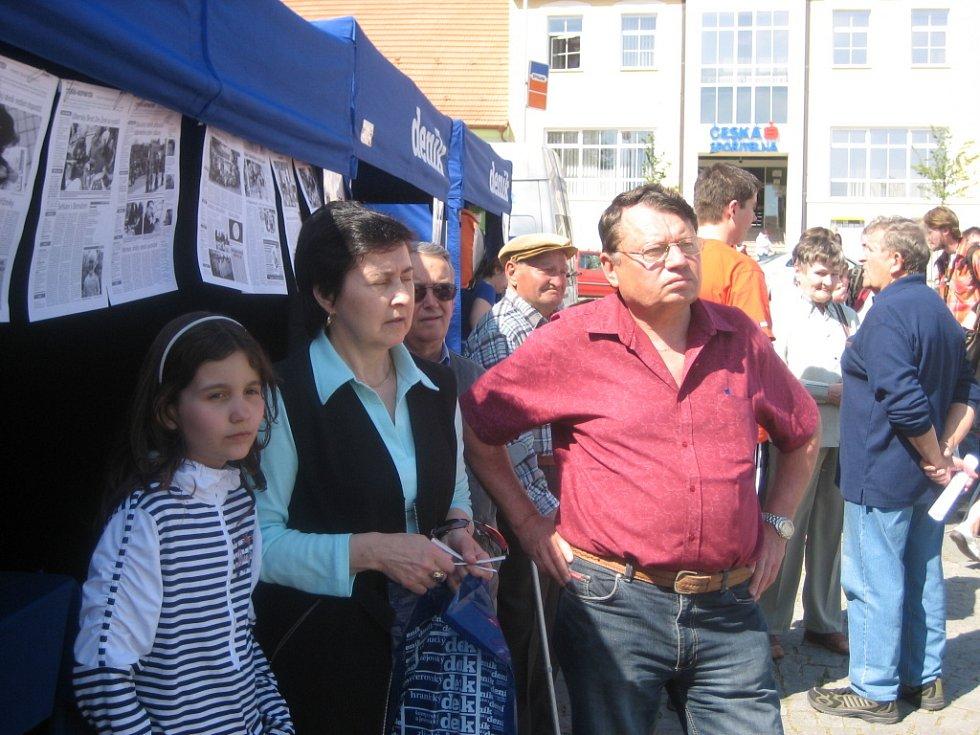 Den s Deníkem v Uherském Brodě.
