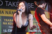 V Uherském Hradišti v pátek 12. června pokračoval festival Týká se to také tebe.