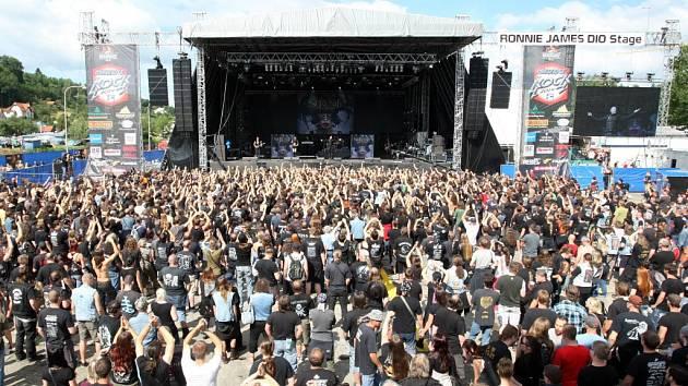 Masters of Rock ve Zlíně. Ilustrační foto.