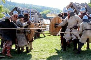 15. ročník historického festivalu, uspořádaného skupinou Velkomoravané a Archeoskanzenem Modrá
