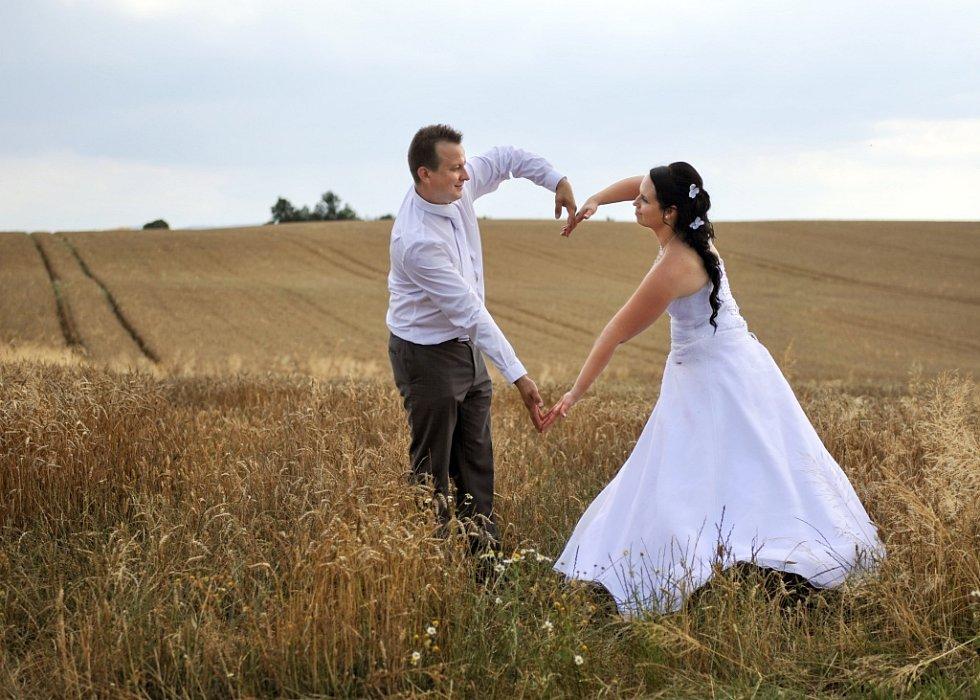 Soutěžní svatební pár číslo 106 - Lenka a Michal Pavelkovi, Trnava u Zlína
