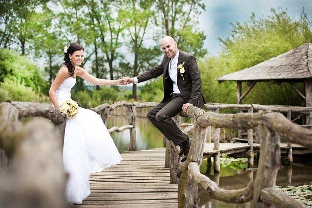 Soutěžní svatební pár číslo 173 - Tomáš a Markéta Jansovi, Olomouc.