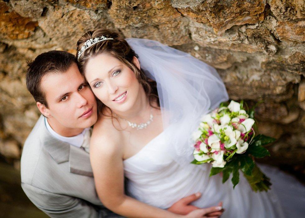 Soutěžní svatební pár 87 - Petra a Petr Zatloukalovi, Troubky.