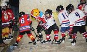 Velká radost ze hry byla vidět na všech malých hokejistech, kteří se v sobotu 18. listopadu zúčastnili v Uherském Hradišti turnaje 2. tříd. Domácím Hradišťanům se dařilo, s Brumovem a Uherským Ostrohem vyhráli všechny čtyři zápasy. (ms)
