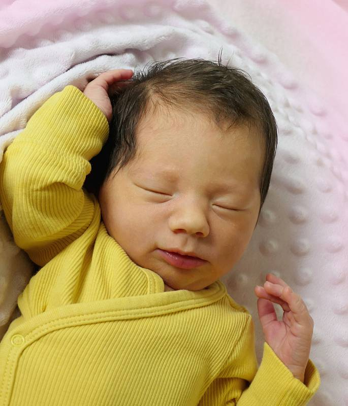 Veronika Zámečníková, Strání, narozena 15. července 2021 v Uherském Hradišti, míra 49 cm, váha 3150 g