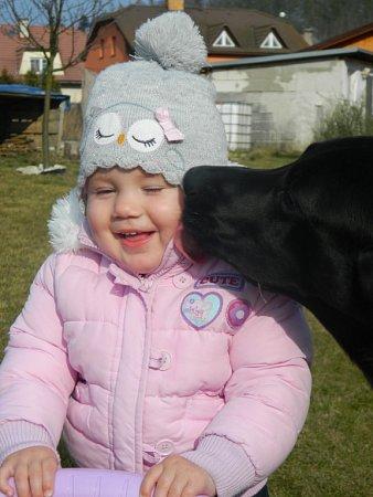 DOMINIČKA. 17měsíců. Fotografii poslala Michaela Hašková