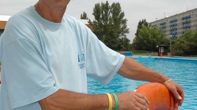 Ředitel hradišťské plavecké školy Ladislav Botek.