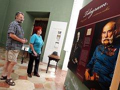 Výstava Leopold II. Berchtold a Velká válka na  zámku v Buchlovicích.