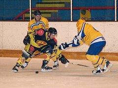 Hokejisté Uherského Brodu porazili Uničov 5:4.