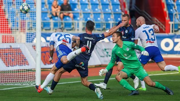 Utkaní 7. kola fotbalové FORTUNA:LIGY: FC Baník Ostrava - 1. FC Slovácko