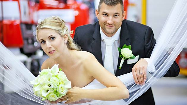 Soutěžní svatební pár číslo 95 - Alena a Tomáš Bártkovi, Zlín