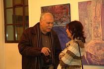 Výstava slovenské výtvarnice Kláry Bočkayové v hranické synagoze