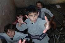 Romské děti.