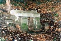 Původní podoba Klimešovy studánky.