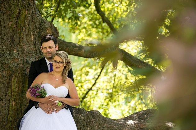 Soutěžní svatební pár číslo 21 -  Ivana a Luboš Hrazdirovi, Prostějov