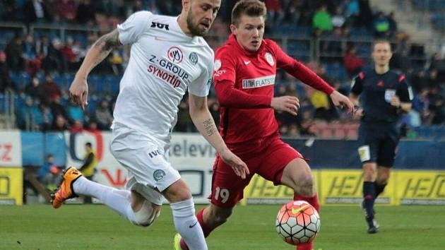 1. FC Slovácko - Zbrojovka Brno. Ilustrační foto.