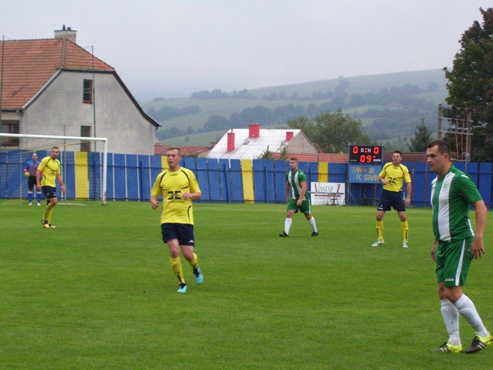 Fotbalisté Strání B prohráli v 6. kole okresního přeboru Uherskohradišťska prohráli s Ostrožskou Novou Vsí 1:4.