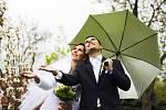 Soutěžní svatební pár číslo 117 - Radka a František Vaculkovi, Dolní Němčí
