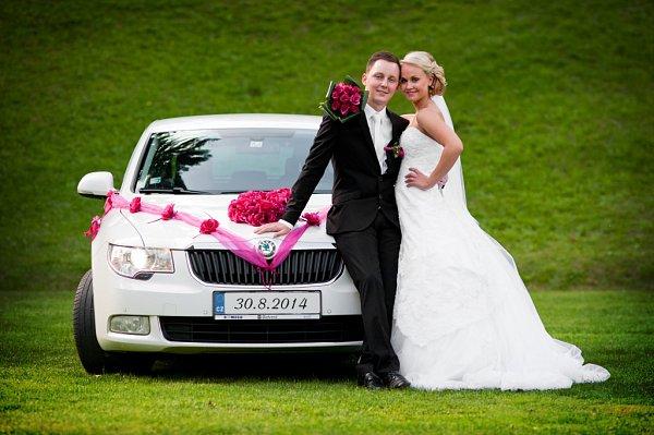 Soutěžní svatební pár číslo 247 - Bára a Filip Novákovi, Olomouc.