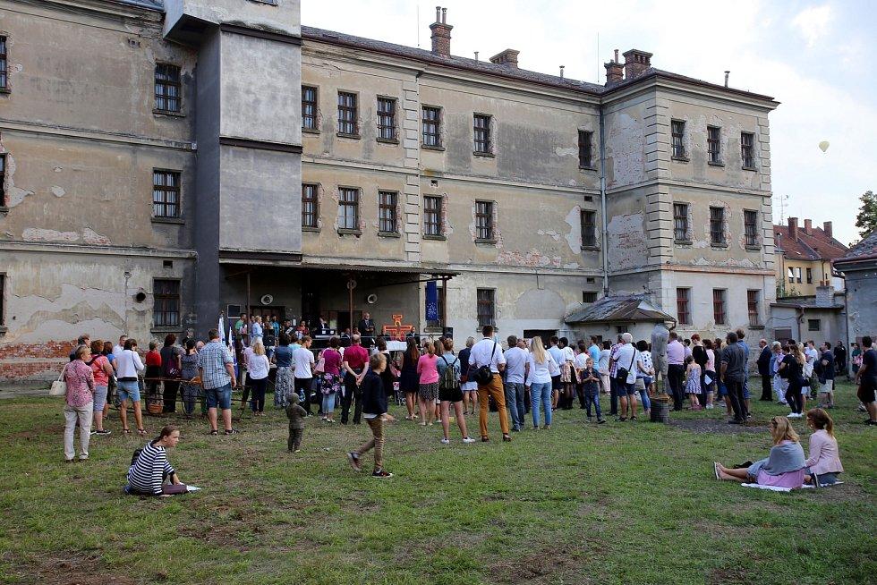 Slavnosti vína Uherské Hradiště 2018.  Ekumenická mše ve věznici.