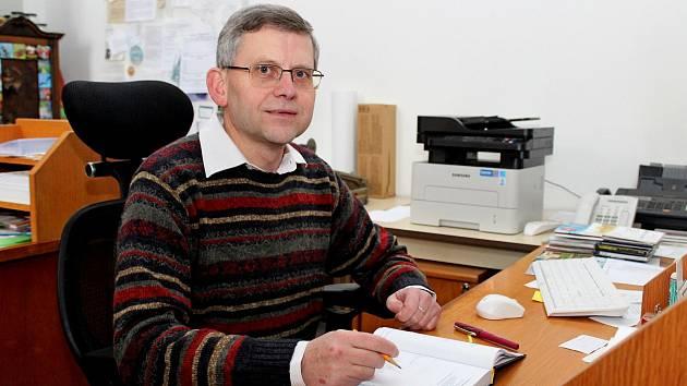 Velehradský farář Petr Přádka těsně před odchodem z Velehradu v lednu 2019 do pozice spirituála řádu Tovaryšstva Ježíšova v ČR.