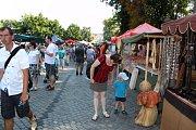 Do Buchlovic přijely navzdory tropickému vedru tisíce lidí.