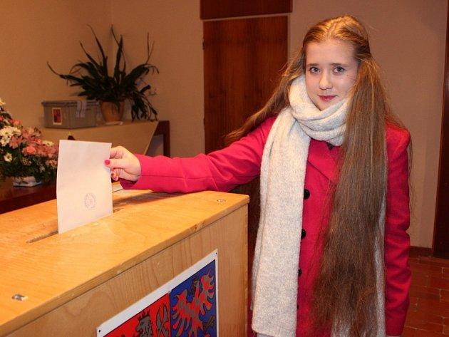 Anna Kremplová zVelehradu se poprvé zúčastnila voleb.