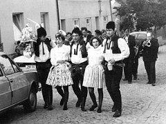 Archivní snímek z hodů v Podolí.