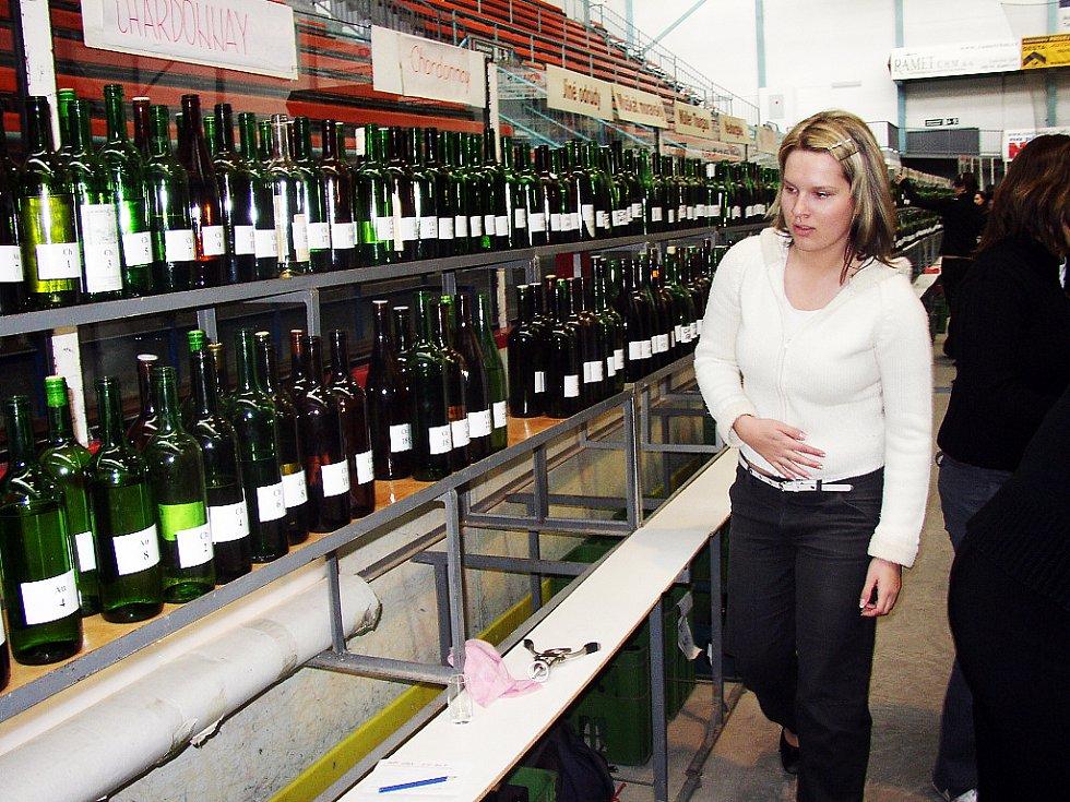 Na zimní stadion v Uherském Hradišti zamířilo 1. května několik stovek milovníků vína.