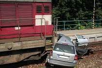 Smrtelná dopravní nehoda v Ostrožské Nové Vsi.