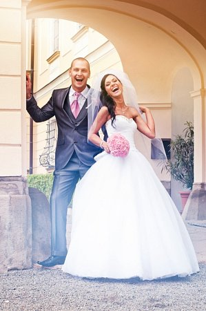 Soutěžní svatební pár číslo 40 - Silvie a Lukáš Nevřalovi, Přerov