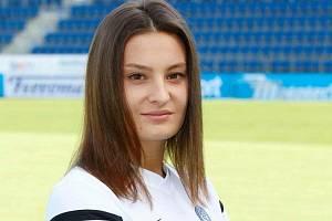 Fotbalistka Slovácka Tereza Molková.
