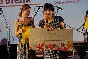 Bezmála 200 000 korun věnovali podporovatelé ze Slovácka Dětskému nadačnímu fondu Krtek, působícímu při Klinice dětské onkologie Fakultní nemocnice v Brně.
