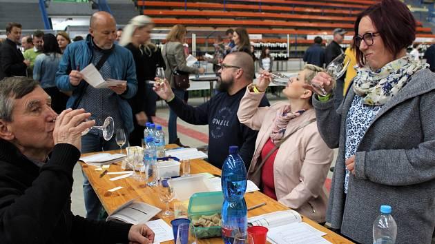 41. regionální výstava vín na zimním stadionu v Uh. Hradišti