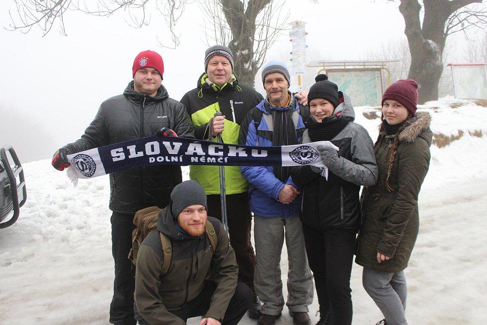 Silvestrovské setkání Čechů a Slováků na Velké Javořině