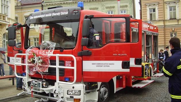 Premiéra pro ostožské hasiče.