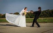Soutěžní svatební pár číslo 178 - Lucie a Tomáš Chovancovi, Uherský Ostroh