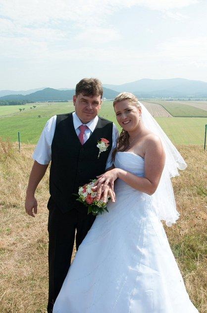 Soutěžní svatební pár číslo 74 - Lenka a Jiří Sloukovi, Skorošice
