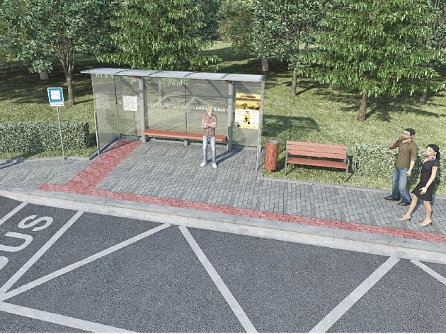 Poslední čerpání dotací z projektu Dopravní terminál Uherský Brod a jeho druhé etapy poputuje na opravy čtyřiadvaceti autobusových zastávek. Na fotografiích je na první pohled patrný rozdíl mezi současným a budoucím stavem.
