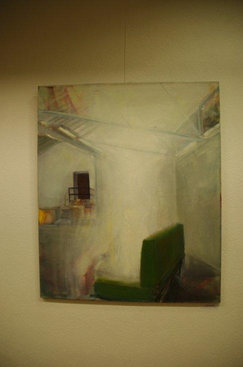 Galerie Vladimíra Hrocha v Hradišti vystavuje obrazy Anny Sypěnové.