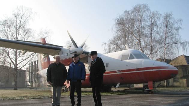 Letadlo L-610.