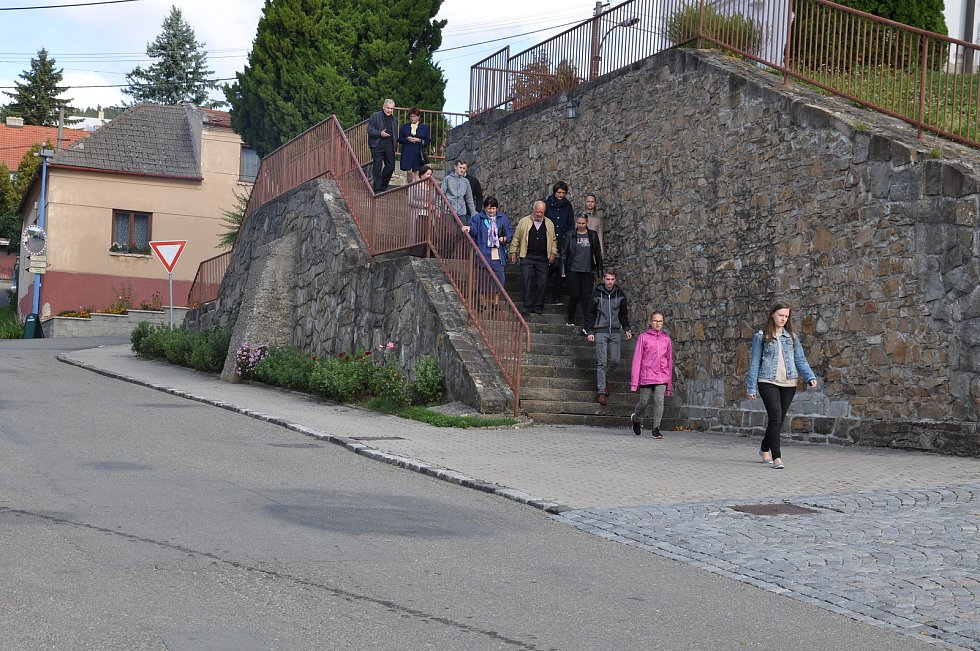 Natáčení filmu Tichý společník v okolí Uherského Brodu