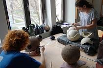 Budky vyrábí studentky třetího ročníku.