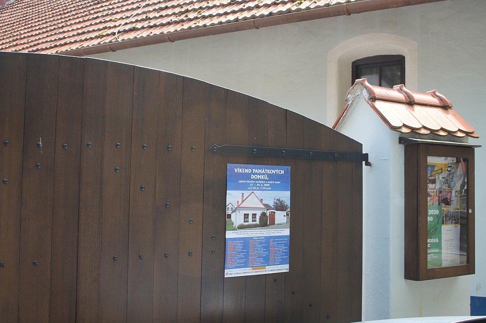 Otevření památných domků na Slovácku 27. - 28.6. 2020.Dolní Němčí, Muzeum Na Mlýně.