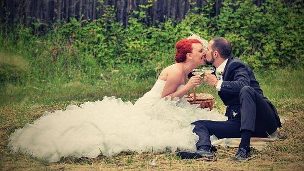 Soutěžní svatební pár 32 - Gabriela a Tomáš Würz.