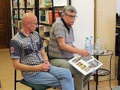 Beseda s autory knihy Historie Nivnického dvora v dokumentech a fotografiích