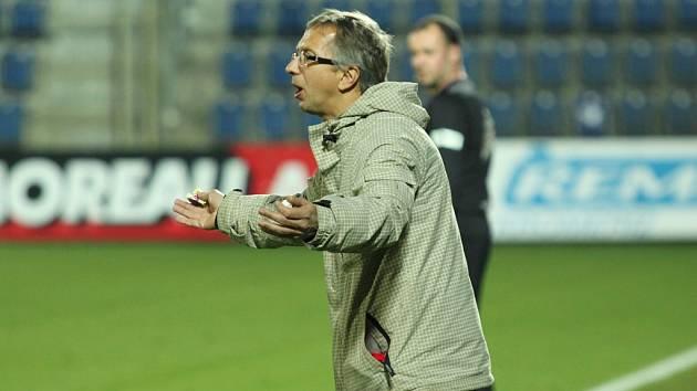 Trenér Libor Zelníček.