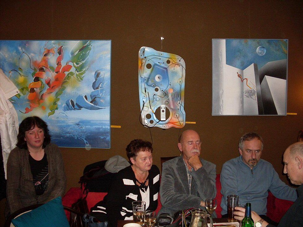 Vaska Mahdal v Café Clubu v Uherském Brodě