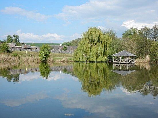 Konventní rybník Velehrad.